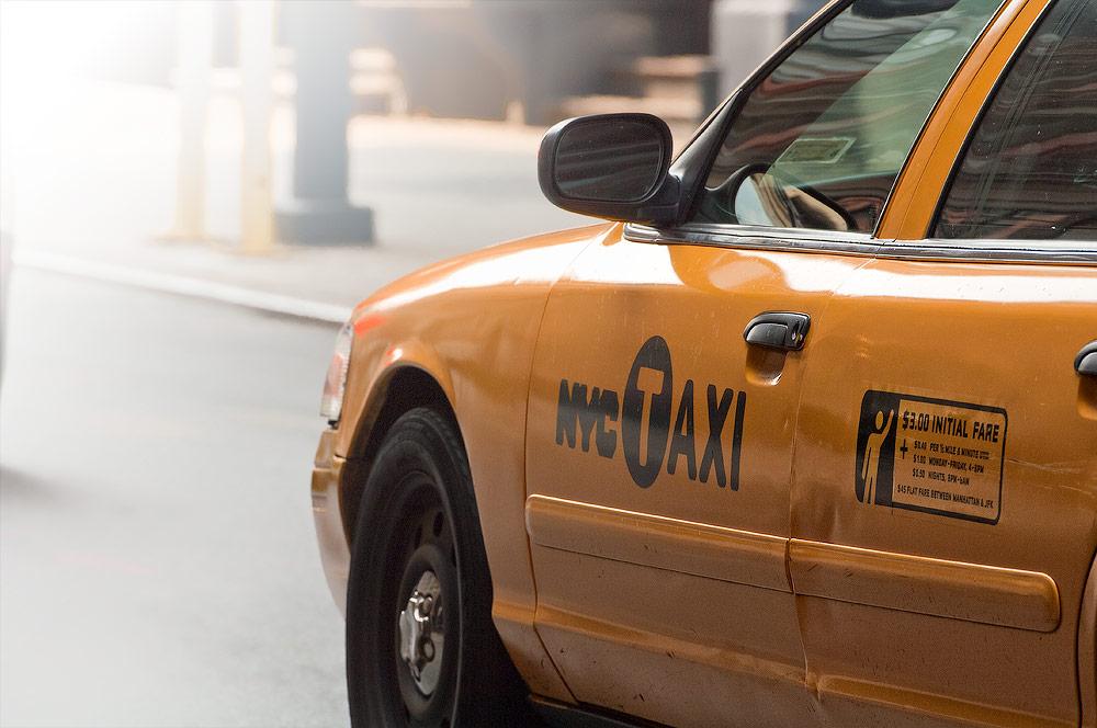 New York - Taxibil - Från min kommande bok