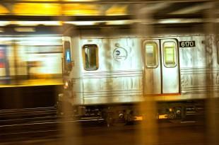 Subway train New York - Internet Week 2013 New York