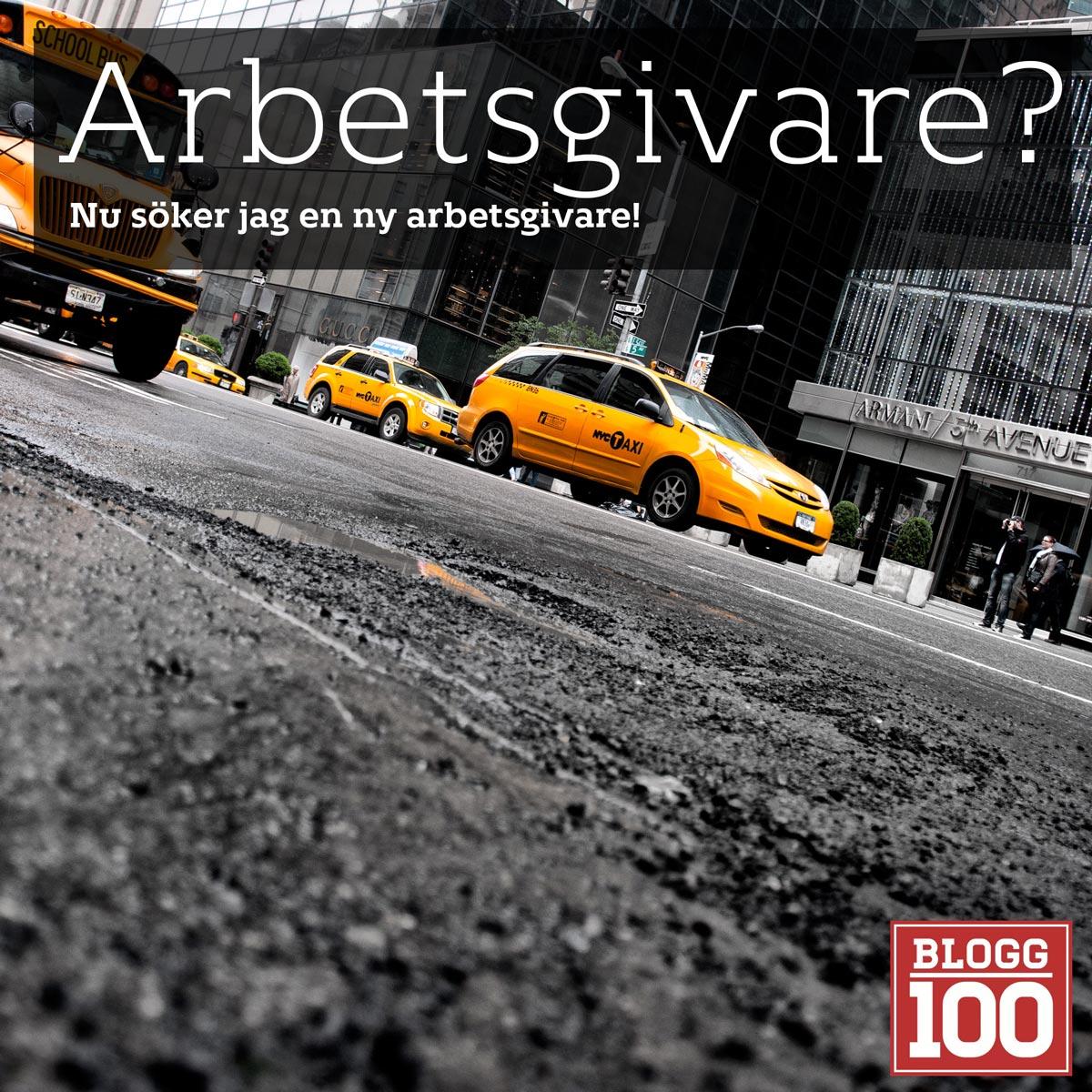 Arbetsgivare sökes! #nyttjobb #blogg100 #fb