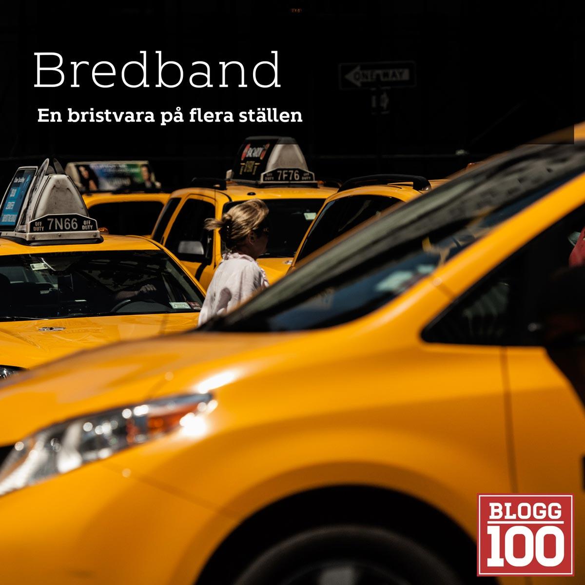 Bredband, en bristvara #blogg100 #fb