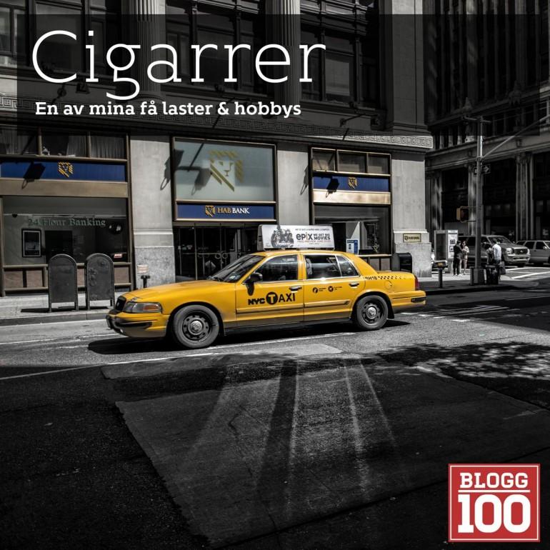 Cigarr. En passion. Cigarrer skall njutas av!