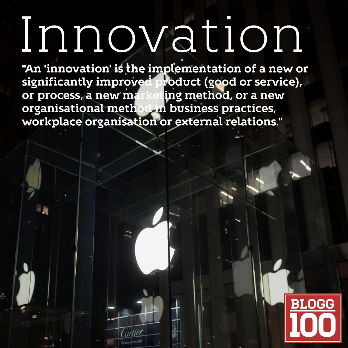 Innovation, från det lilla till det stora #blogg100 #fb