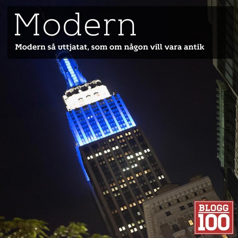 Modern, så uttjatat. Modern verksamhet vad är det? Blogg100