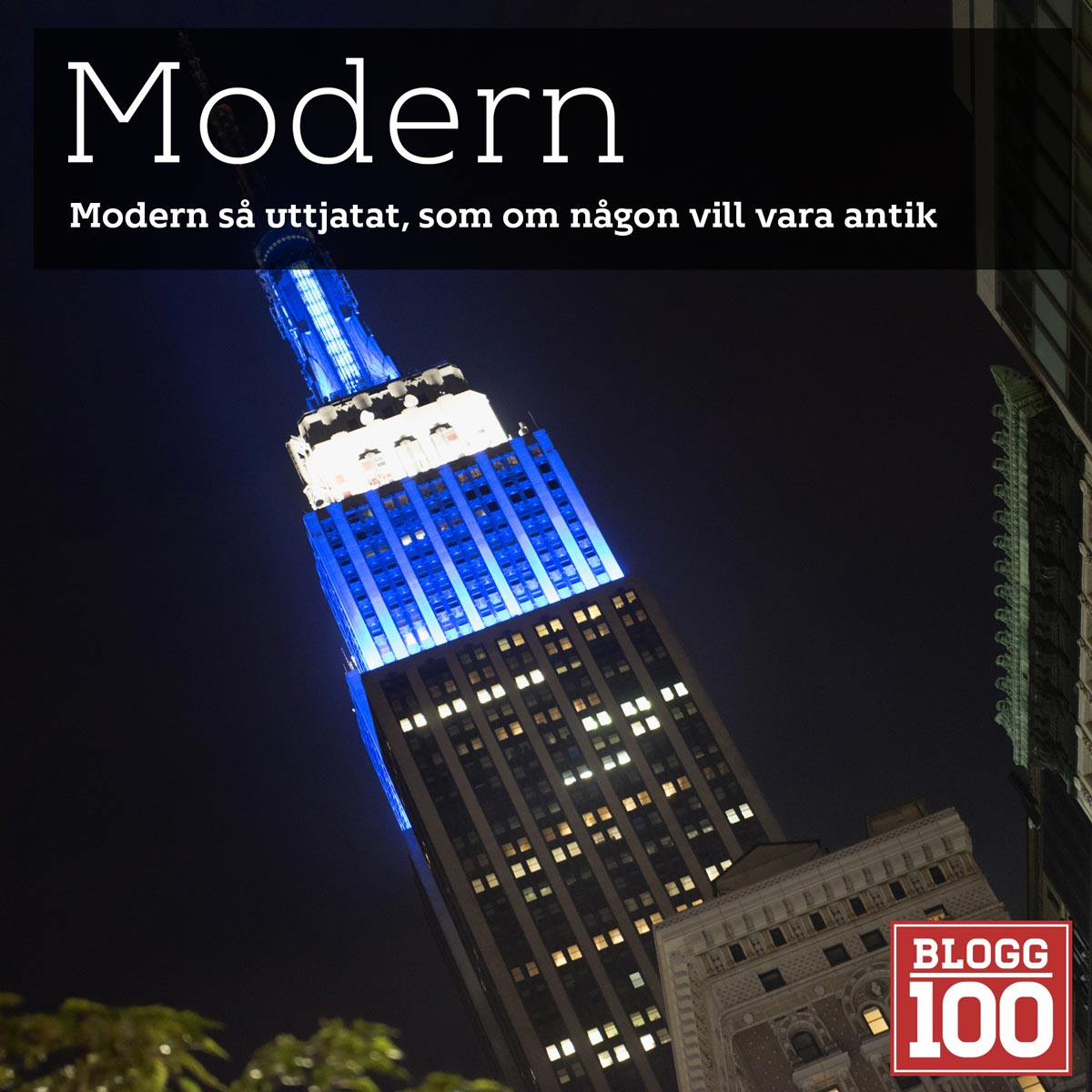 Modern, vad innebär det? #blogg100 #fb