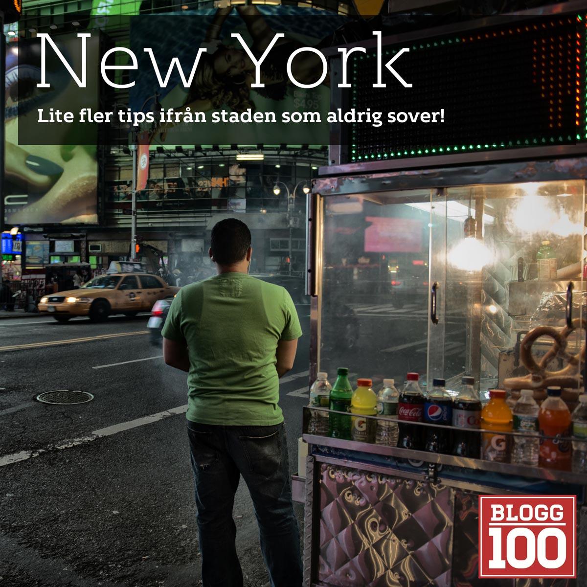 New York, fler små tips #blogg100 #fb
