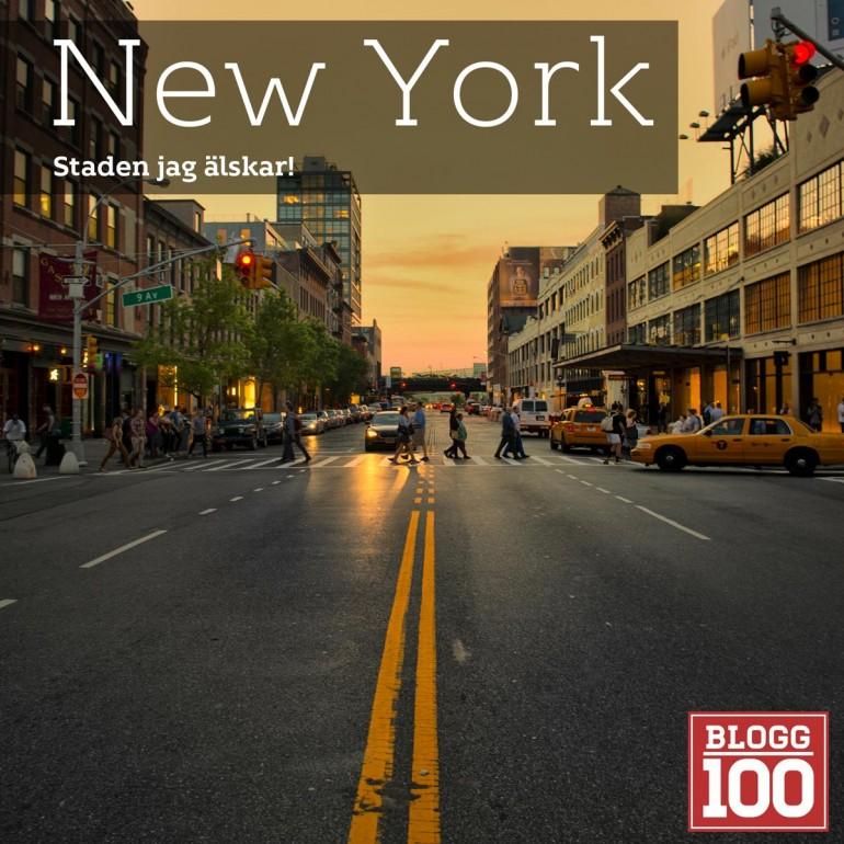 New York, staden jag älskar! #blogg100