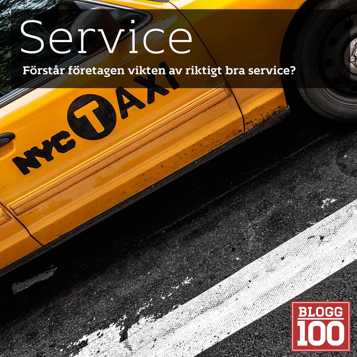 Service? Hur hamnar kunden i centrum? #blogg100 #fb