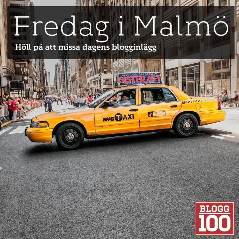 Fredag i Malmö.