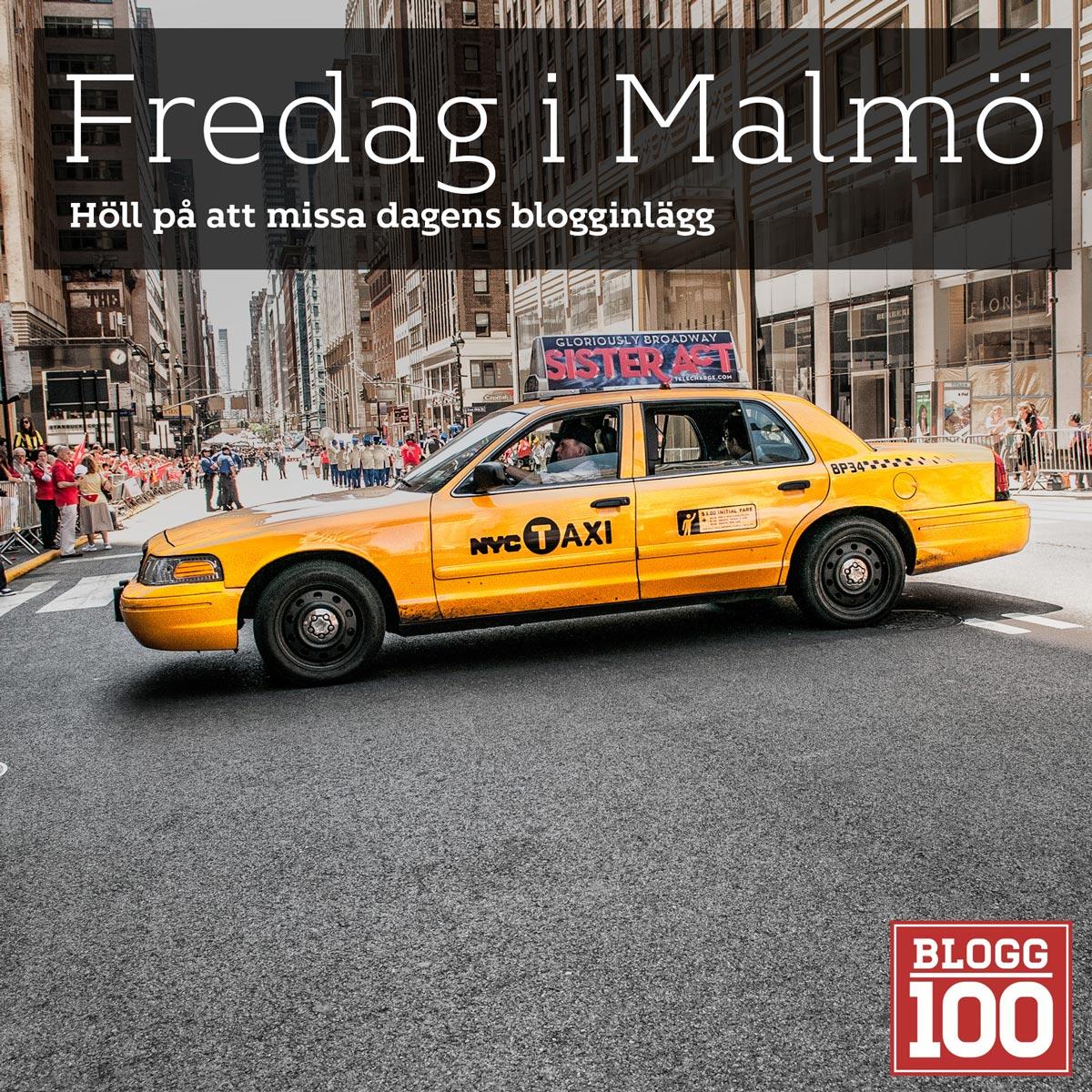 Fredag i Malmö #blogg100 #fb