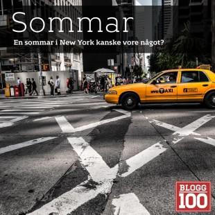 En sommar i New York. Ja, jag funderar på att spendera en sommar i New York. En stad jag älskar.
