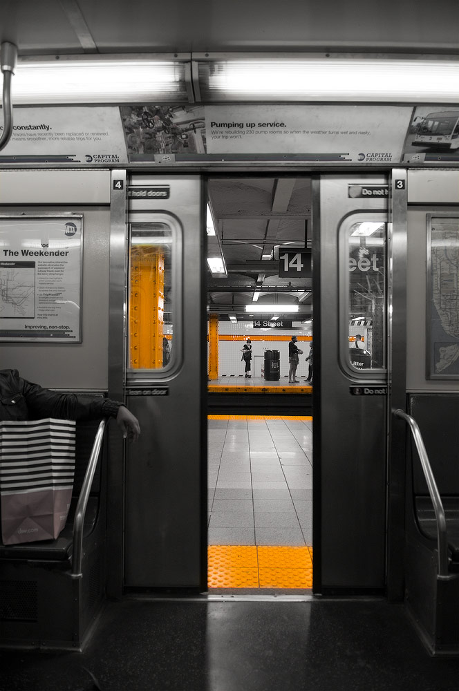 14th street. Subway New York