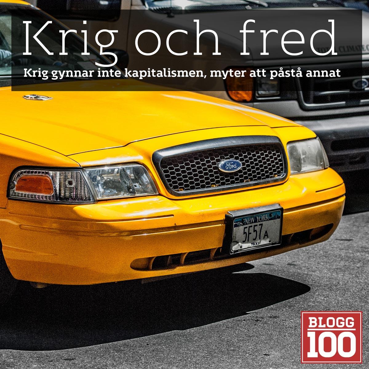 Krig beror inte på pengar #blogg100 #fb