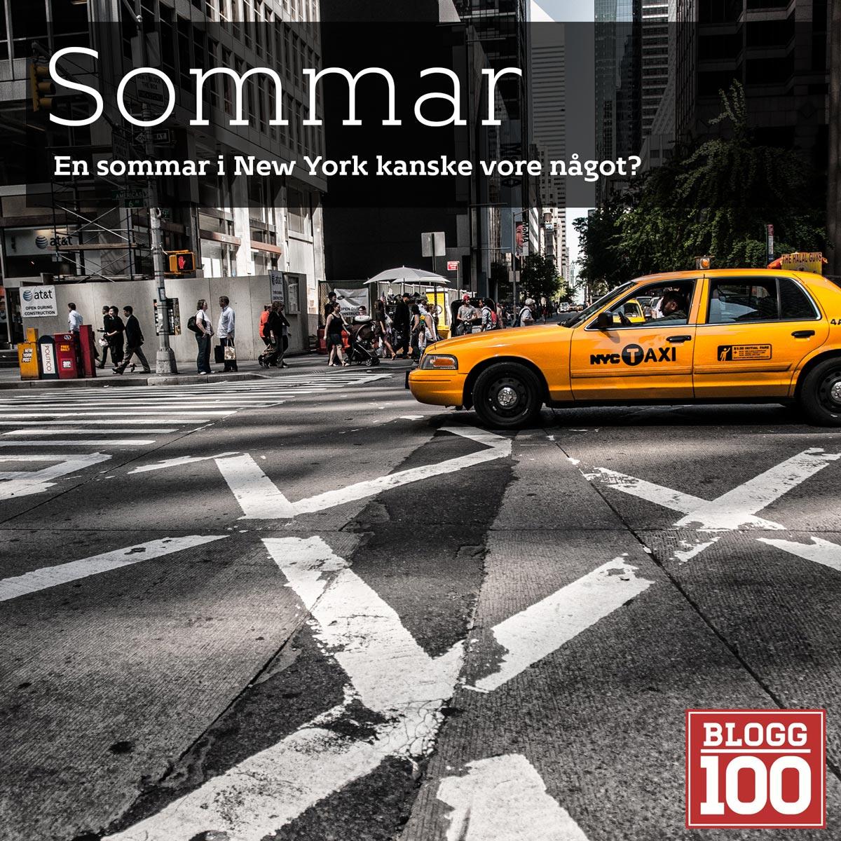 Sommar i New York? #blogg100 #fb